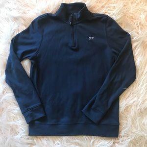 Vineyard Vines Boys Quarter Zip Sweater
